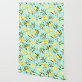 Vintage & Shabby Chic - Lemonade Wallpaper