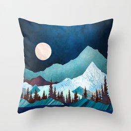 Moon Bay Throw Pillow