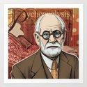 Sigmund Freud by msuteski