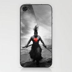 Courage of Samurai iPhone & iPod Skin