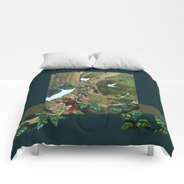 Pigeons, Parakeets and Fantails Comforters