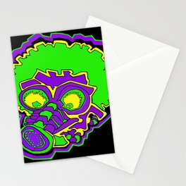 Other Worlds: Gas Masked Stationery Cards