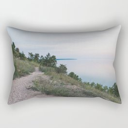 Trail Along the Dunes Rectangular Pillow