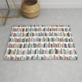 Happy Reading! Rug
