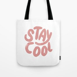 Stay Cool Vintage Pink Tote Bag