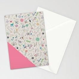 Pez Otomi pink by Ana Kane Stationery Cards