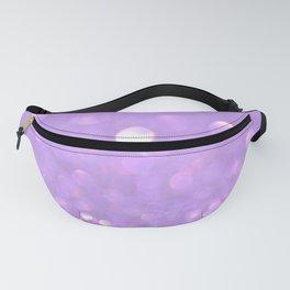 Purple Glitter Fanny Pack