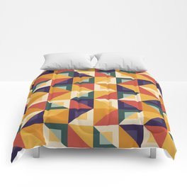 Colorful Triangle Pattern Comforters