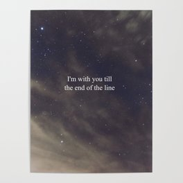 Till the End of the Line Poster