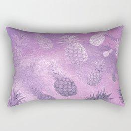 Ananas Fruit Pattern 3 Rectangular Pillow