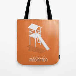 Never Forget to Play - Slide Tote Bag