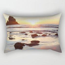 Whereever I go, I long to be here Rectangular Pillow