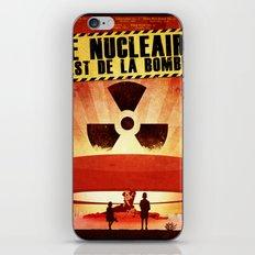 Le Nucléaire c'est de la bombe iPhone & iPod Skin