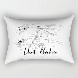 Chet - Strollin' Rectangular Pillow