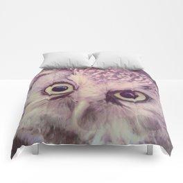 Dirty Look Owl Comforters