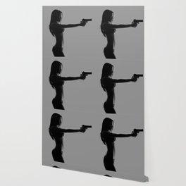 Girls love guns Wallpaper