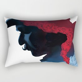 Murder on the Orient Express Rectangular Pillow