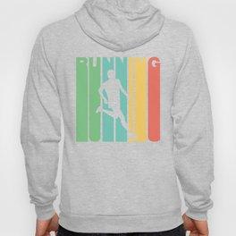 Retro Style Running Runner Hoody