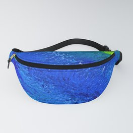 """Riptide #4"" Oil Painting Fanny Pack"