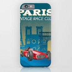 vintage race car Slim Case iPhone 6s