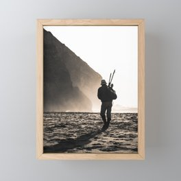 Fisherman Framed Mini Art Print