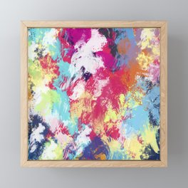 Abstract 39 Framed Mini Art Print