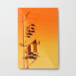 Electricity Metal Print