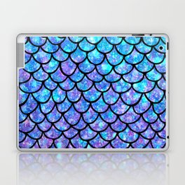 Purples & Blues Mermaid scales Laptop & iPad Skin