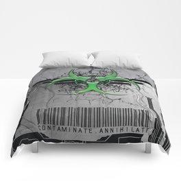 CONTAMINATE/ANNIHILATE II Comforters