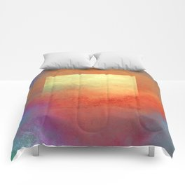 Square Composition II Comforters