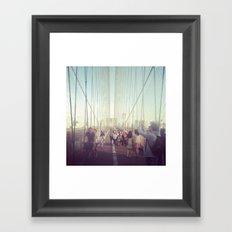 Brooklyn 1 Framed Art Print