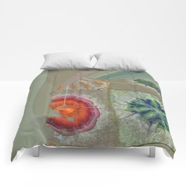 Baculum Concord Flower  ID:16165-040029-30001 Comforters