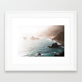 Oceans Blue Framed Art Print