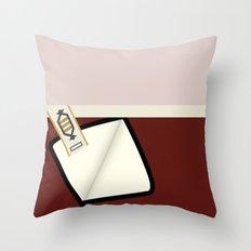 Kirk - TMP -Open - Minimalist Star Trek TMP - James T Kirk - startrek trektangles Wrath of Khan 1701 Throw Pillow
