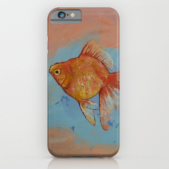 Ryukin Goldfish iPhone & iPod Case