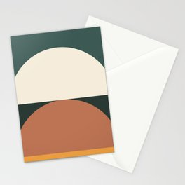 Abstract Geometric 01E Stationery Cards