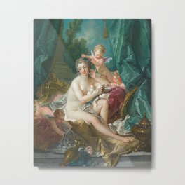 The Toilette of Venus, Francois Boucher, 1751 Metal Print