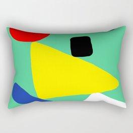 The Balancing Act Rectangular Pillow