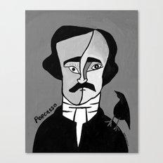 Poecasso Canvas Print
