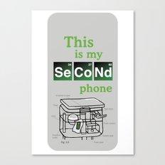 Second Phone Canvas Print