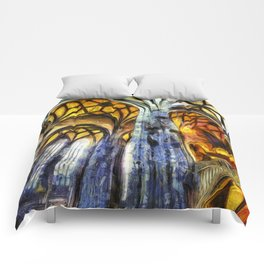 Vienna Cathedral Vincent Van Gogh Comforters