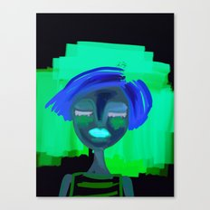 portrait of a girl Canvas Print