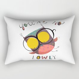 You're so l-OWL-y Rectangular Pillow