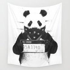 Bad panda Wall Tapestry