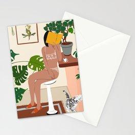 Abstract Vintage wall art minimalist print decor Stationery Cards