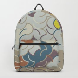 Abstract Geometric Artwork 85 Backpack