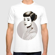 Hepburn Mens Fitted Tee White SMALL