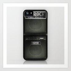 Rock N´Roll amplifier Art Print