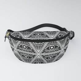 Third Eye Magic Geometric Pattern Fanny Pack