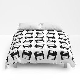 Diskette Retro Pattern Comforters
